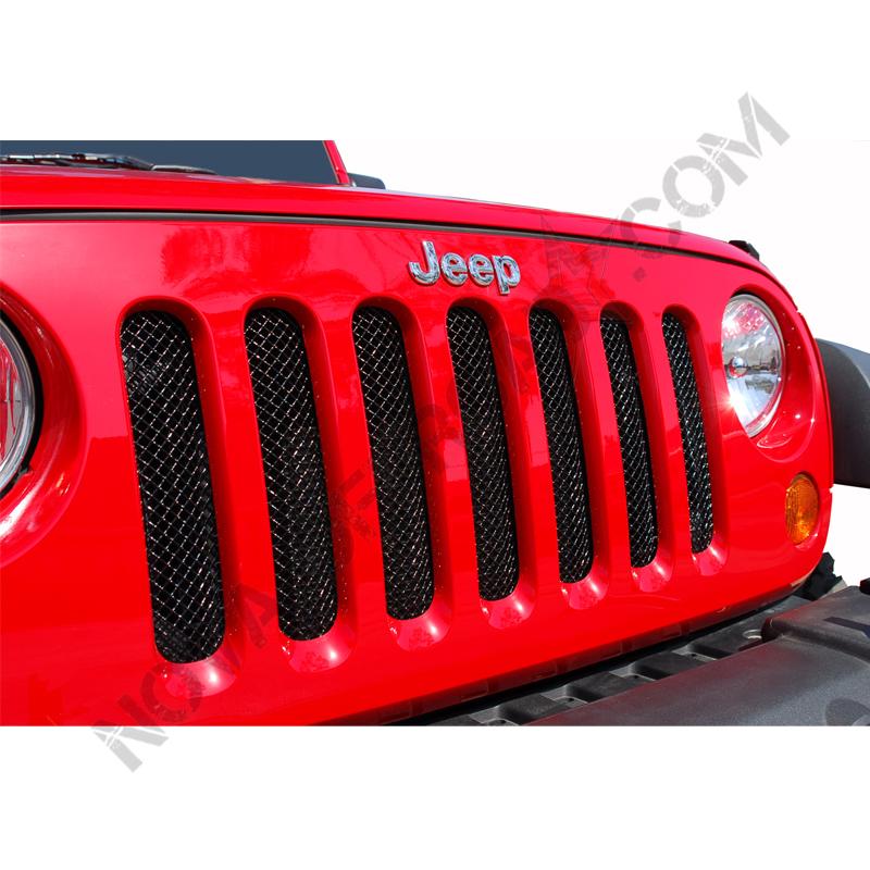 Grille calandre jeep wrangler - Grille de protection pour insert ...